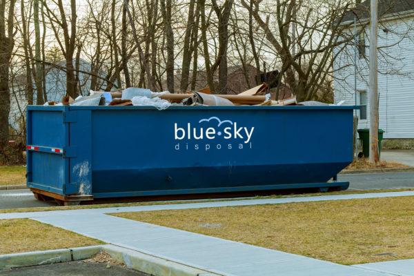 30 Yard Roll Off Dumpster Rental